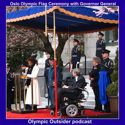 Olso Flag Ceremony