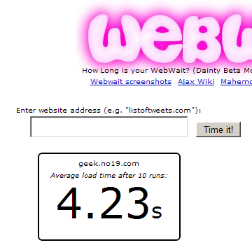 geek.no19.com on WebWait