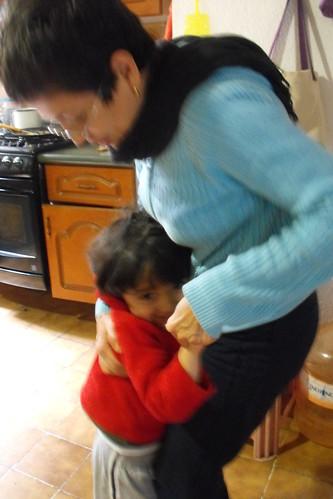 Bailando con la abuela