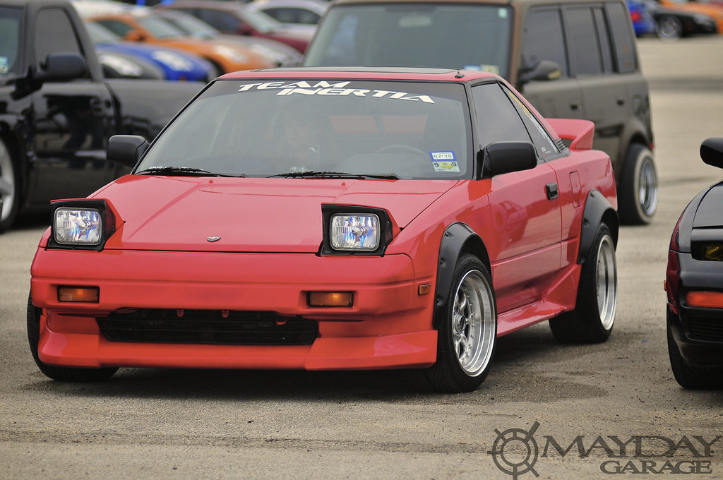 A pretty cool first generation MR2 (AW11) was in attendance
