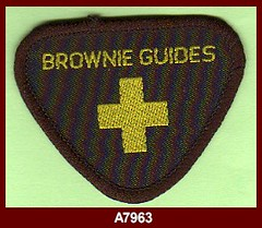 key to girl guides badges for guides