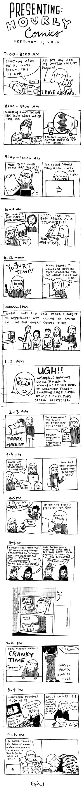 hourly comics 2010!