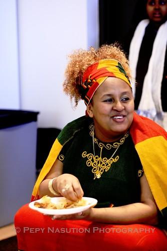 An Ethiopian Lady