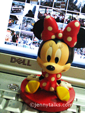 HK Disneyland souvenir: Minnie Mouse