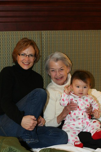 with Meemaw and Nana