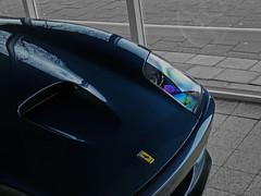 Ferrari 550 Maranello (WillemDahrs) Tags: blue color lumix hard engine fast ferrari panasonic filter sound poli dmc beautifull willem maranello selective 550 gtc superamerica 575 fz28 warmondcrew dahrs