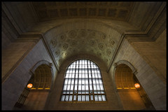 Toronto Union Station - Interior (mmmighty_atom) Tags: toronto building station architecture train hall interior architectural unionstation architecturalphotography d700 1424mm