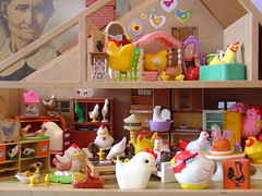 Chicken House (raining rita) Tags: house chicken chick rooster hen dollhouse miniaturefruniture
