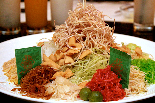 Alaskan King Crab Yu Sheng :$58 or $88