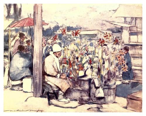 016-Puesto callejero de juguetes-Japan  a record in color-1904- Mortimer Menpes