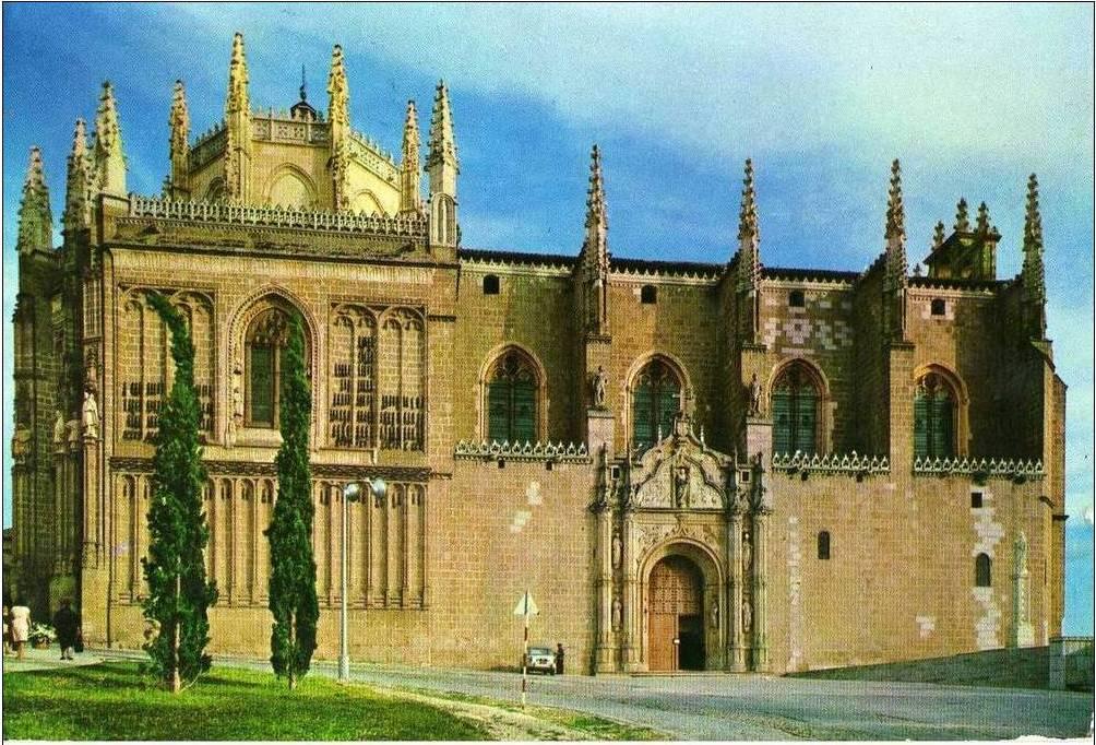 San Juan de los Reyes a mediados del siglo XX