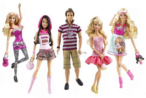 Fashionistas Barbie nd wave of Fashionista s lt