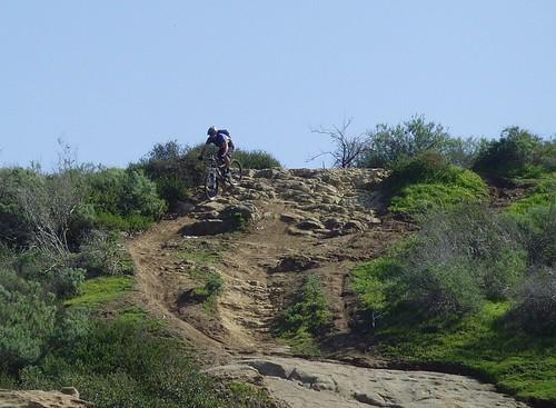 Tony entering the Trail