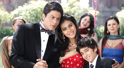 Kajol and Shah Rukh Khan in MNIK