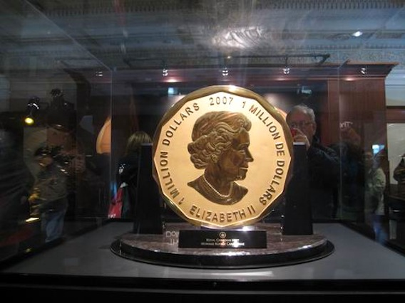 $1 million gold coin