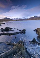 DeargBheinn (Leathanach) Tags: blue trees sky mountains water clouds scotland highlands nikon d70 scottish reservoir loch stumps beinndearg lochglascarnoch landscapesshotinportraitformat clanflickr