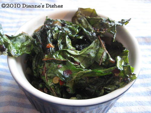 Spicy Baked Chard