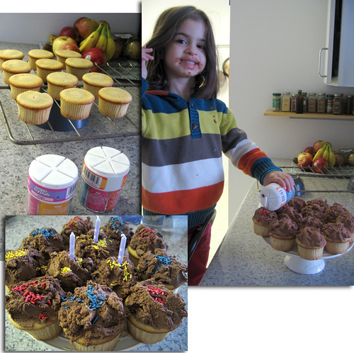 dessert - birthday cupcakes