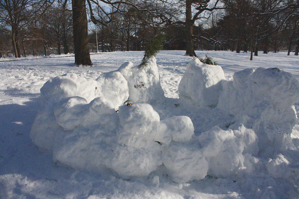 snow forts