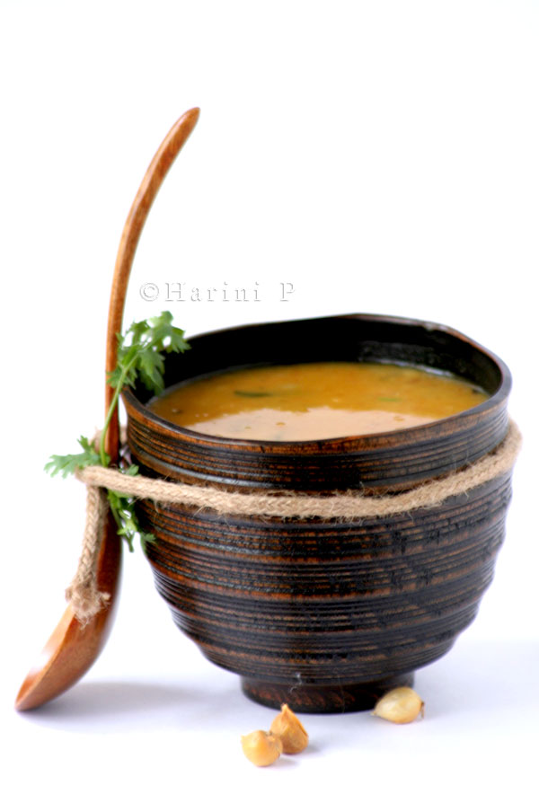 Red gram lentil soup / Masoor ki dal