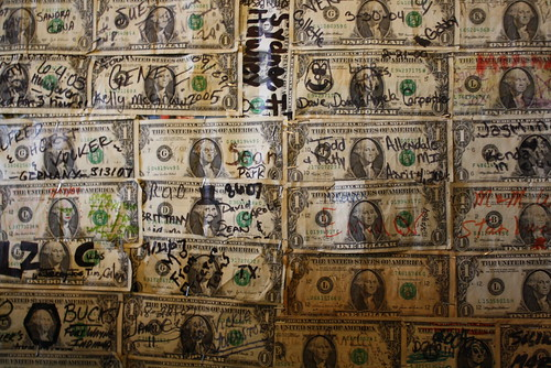 Money wall