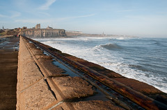 Tynemouth (boscoppa) Tags: uk sea pier nikon tynemouth priory tyneandwear northeastengland 18200vr d300s