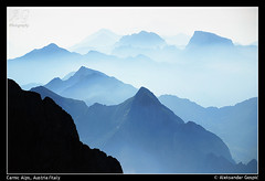 Endlessness (TranceVelebit) Tags: italy mist mountains alps austria view carinthia alpen alpi hohewarte alpicarniche carnicalps montecoglians coglians aleksandargospic carnichealpen