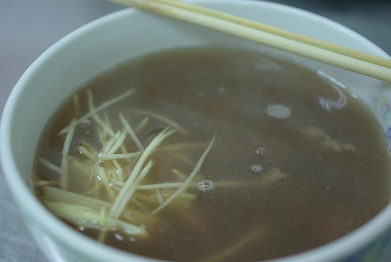 20100220台南牛肉清湯