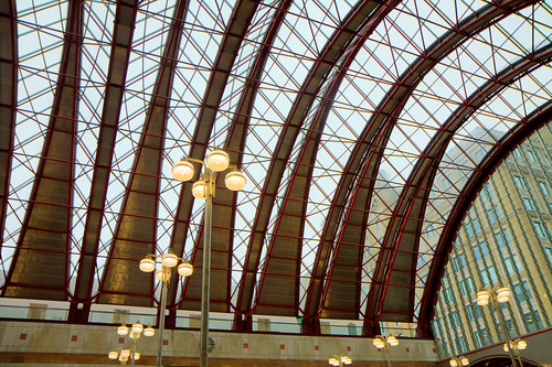 Roof @ Canary Wharf Station