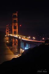 Aperture Academy Night Owls Workshop, Golden Gate Bridge(11) (M. Shaw) Tags: sanfrancisco california lighting reflection beach water architecture night canon lights goldengatebridge workshop bayarea longexposer 2470mmf28l canoneos5dmarkii mshaw 5dmark2 apertureacademy