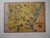 ARKANSAS (Mumu X) Tags: usa vintage map postcard arkansas reprint