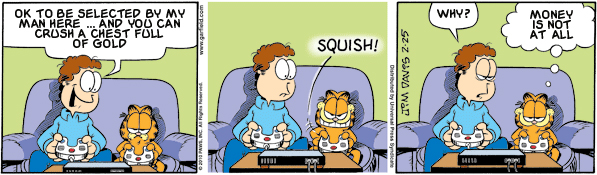 Garfield: Lost in Translation, February 25, 2010