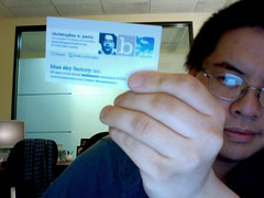 New BSF Business Cards