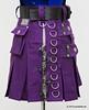 Custom Purple Punk Mini-kilt