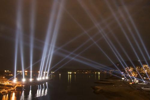 Olympic Light Show