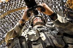 [フリー画像] [戦争写真] [兵士/ソルジャー] [銃器] [ブローニングM2重機関銃] [アメリカ軍兵士]      [フリー素材]