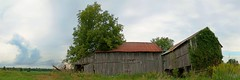 Neglected Barn by the Road (nellleo) Tags: sky panorama clouds barn farm valley kemptville easternontario nothdr neglectedbarn