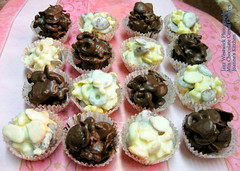 Chocolate Cereal Clusters (Sparkling Jazz) Tags: chocolates cereals joanneskitchen