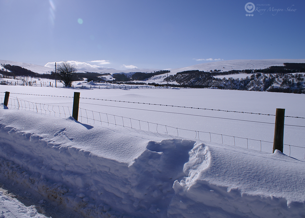Crazy amount of snow in Tomintoul