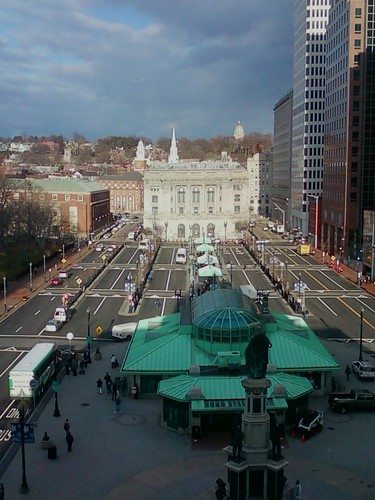 Kennedy Plaza from city archives.