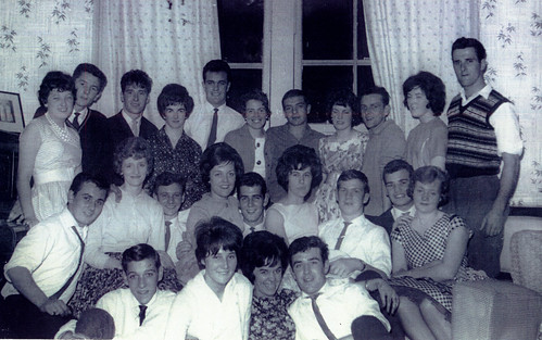 Maureen's 18th Birthday Party, St Georges Road, August 1961.