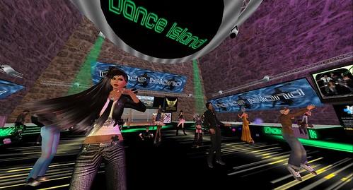 rafee at dance island