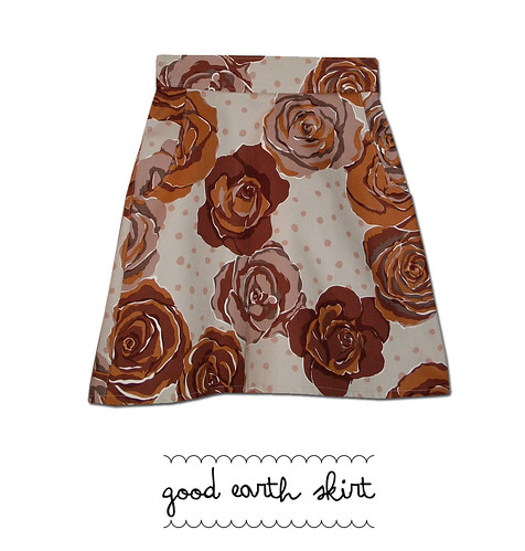 good earth skirt