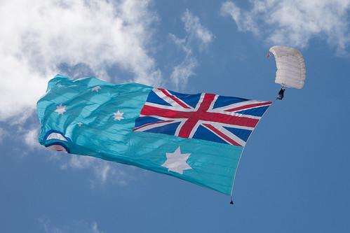 Flag drop