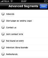 BAM Analytics Pro: Advanced Segments