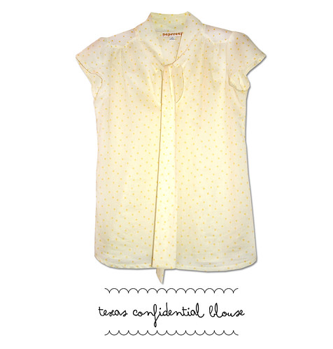 texas confidential blouse stars