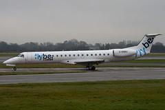 G-EMBU - 145458 - FlyBe - Embraer EMB-145EU - Manchester - 081126 - Steven Gray - IMG_2821