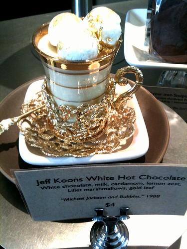 Jeff Koons White Hot Chocolate
