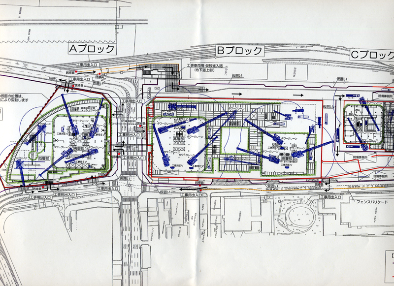 北ヤード工事説明会