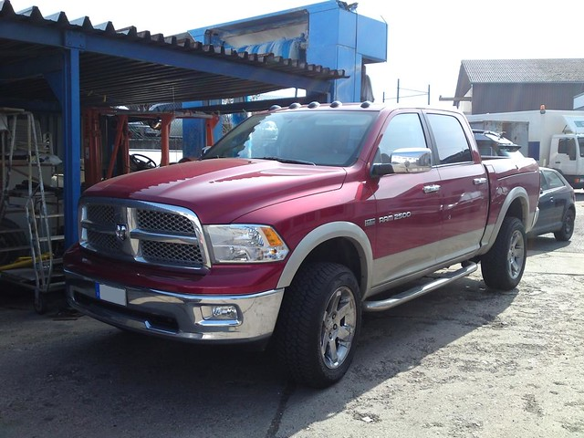 auto red cars car truck double american dodge trucks local ram import capt chrom laramie exhaust 2500 koblenz 2010 amerikanisch